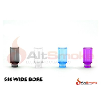 510 Wide Bore Drip Tips