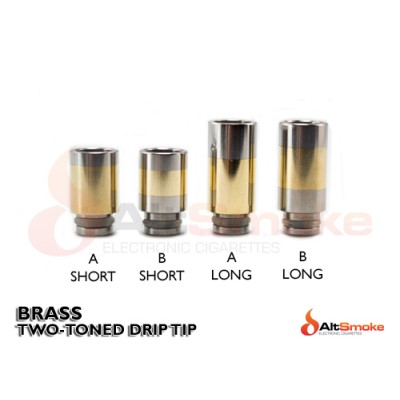 Brass Two Toned Drip Tips
