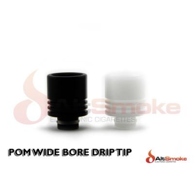 POM Wide Bore Drip Tip