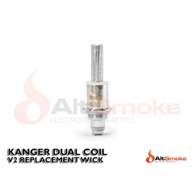 Kanger Dual Coil (Enclosed Wicks)