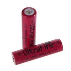 18650 XSL 2600mAh Battery - Protected