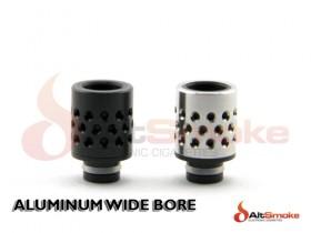 Aluminum Wide Bore Drip Tip