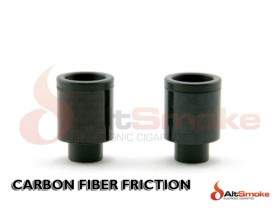 Carbon Fiber Friction Fit Drip Tip