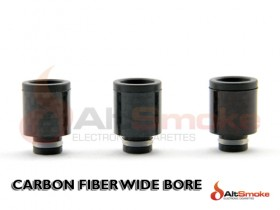Carbon Fiber Wide Bore Drip Tips