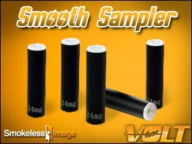 Volt Smooth Sampler - Cartomizers (5pk)