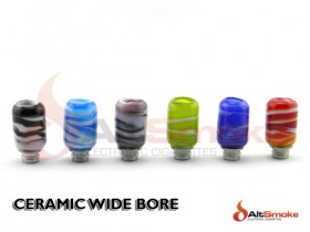 Ceramic Wide Bore Drip Tips