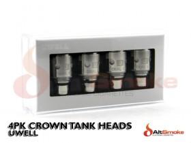 4pk Crown Tank Heads - Uwell
