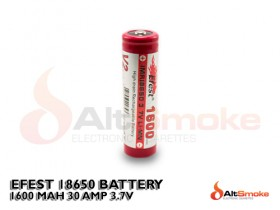 Efest 18650 1600mAh 30A IMR Battery