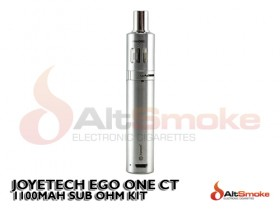 eGo One CT Starter Kit - Silver