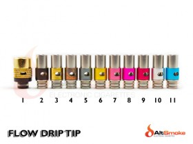 Adjustable Airflow Drip Tip