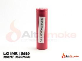 LG 18650 HE2 IMR Battery 2500mAh