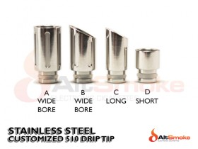 Wide Bore Drip Tips