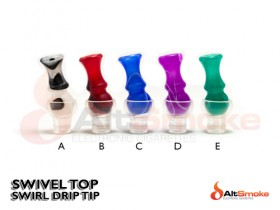 Swivel Drip Tip - Swirl