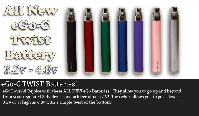 eGo-C Twist Batteries