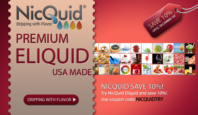 NicQuid USA Made E-Liquid