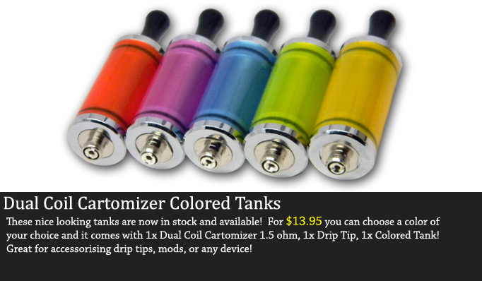 Colored Dual Coil Tanks