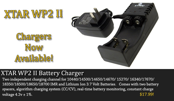 XTAR WP2 II 18650 Battery Charger