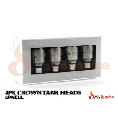 4pk Crown Tank Heads - Uwell