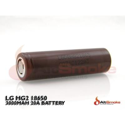 LG 18650 HG2 3000mAh Battery