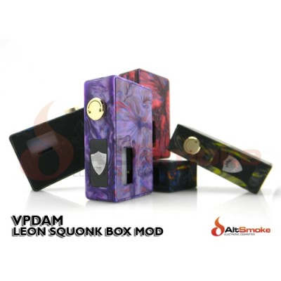 Vpdam Leon Squonk Box Mod