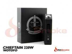Wotofo - Chieftain 220w Box Mod
