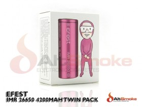 Efest IMR 26650 4200mAh 50A Twin Pack