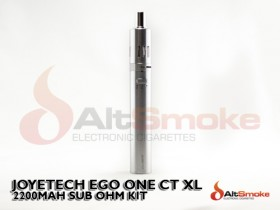eGo One CT XL Starter Kit - Silver