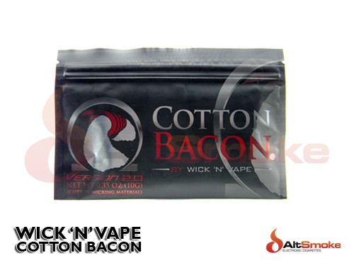 Wick N Vape - Cotton Bacon